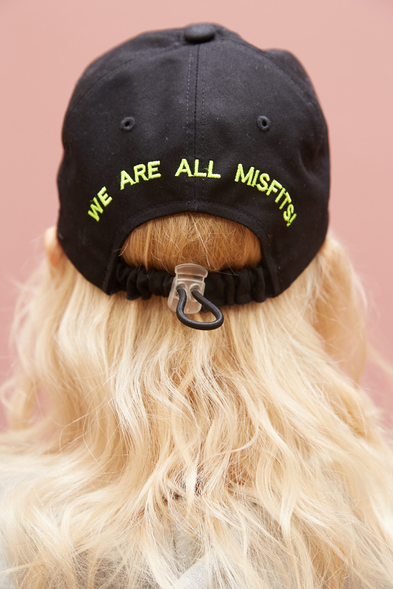 [unisex] move cap (black)