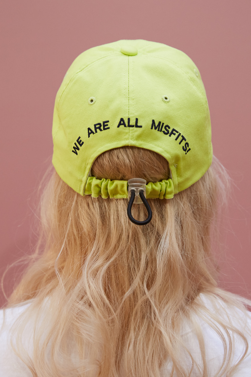 [unisex] move cap (light yellow)