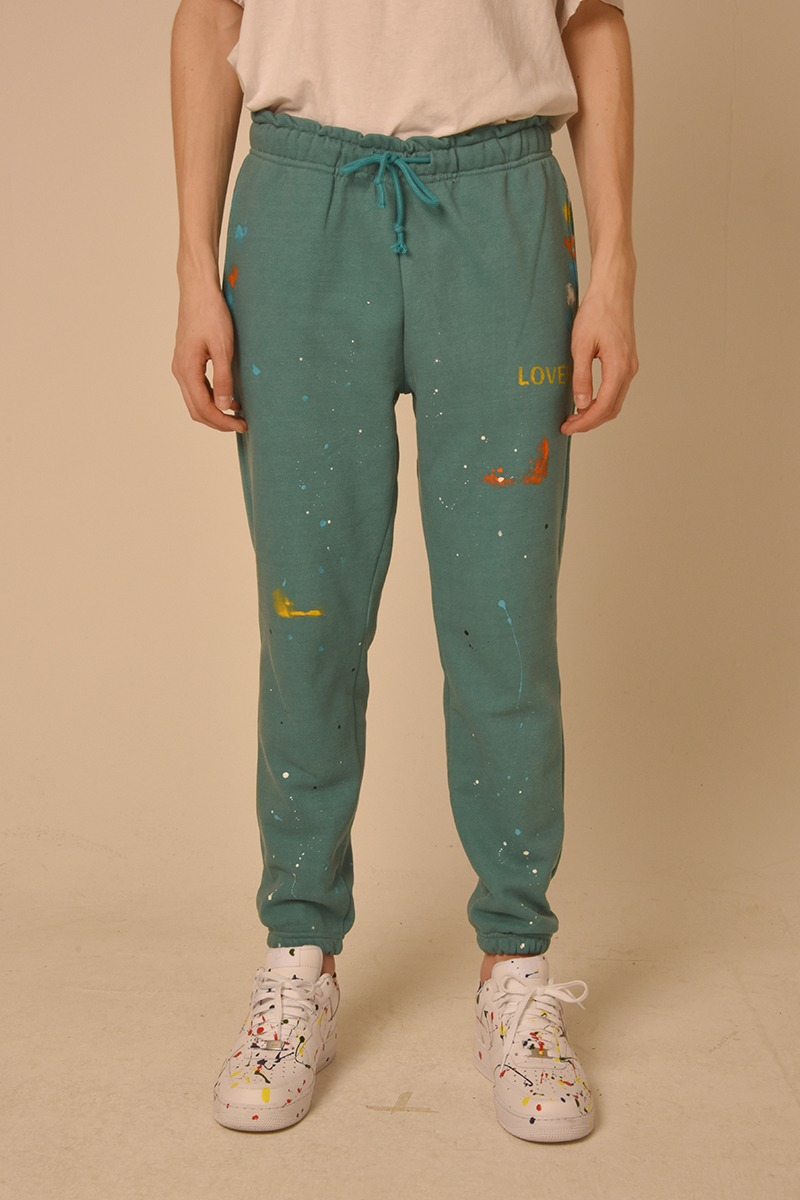 [unisex] pg paint pants (green)