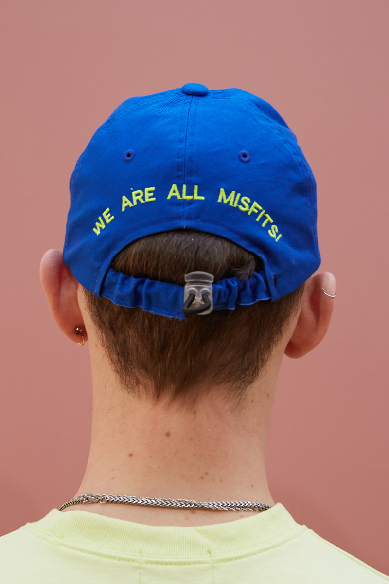 [unisex] move cap (blue)