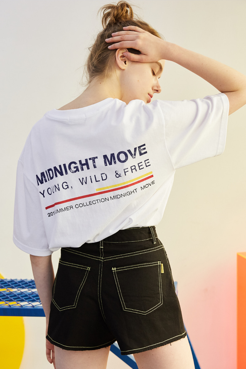[unisex] 4 midnight T (white)