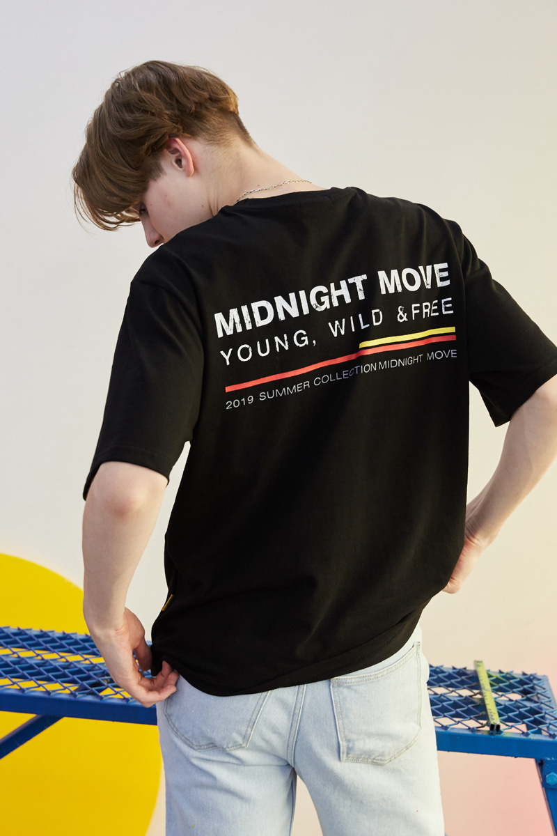 [unisex] 4 midnight T (black)