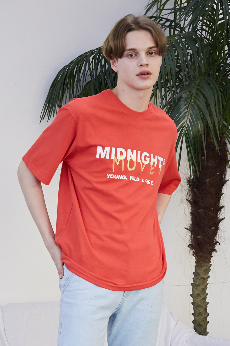 [unisex] move T (red)