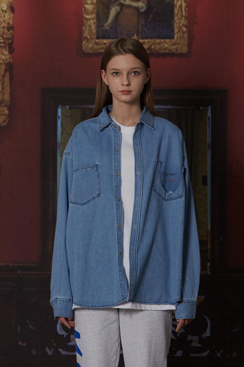 [unisex] denim shirts