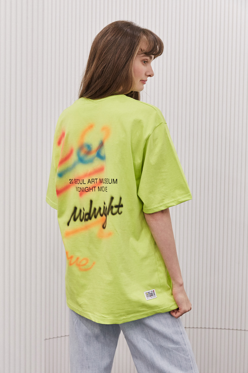 [unisex] spray t (lime)