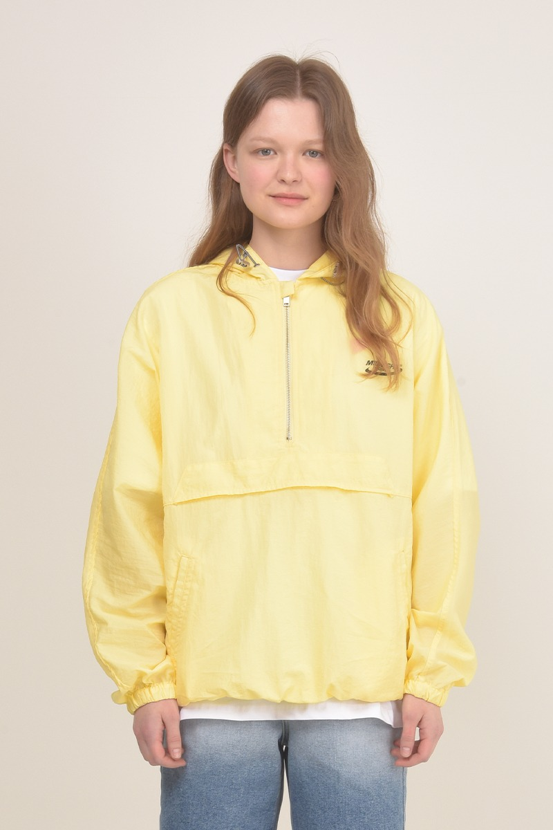 [unisex] summer anorack (yellow)